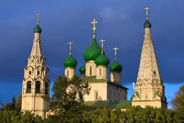Yaroslavl St. Elijah Exterior