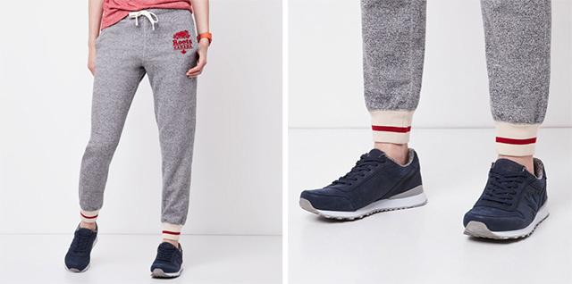 Cabin Cuff Sweat pants Salt & Pepper