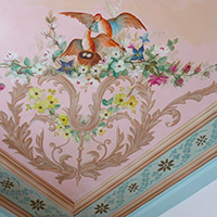 Pendray Inn ceiling detail