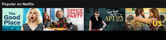 Popular on Netflix