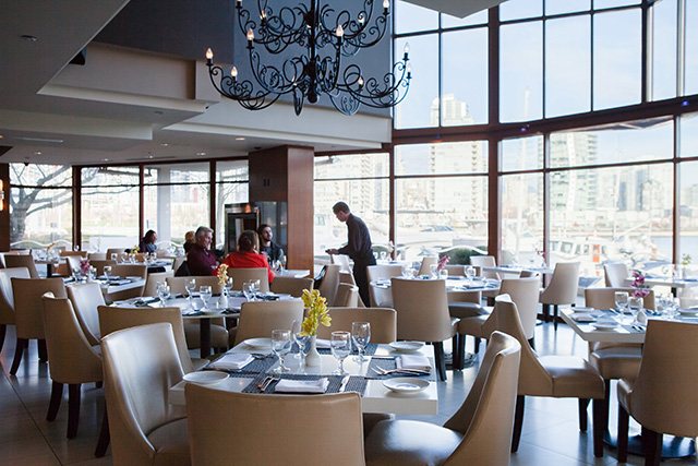Dockside Restaurant, Granville Island