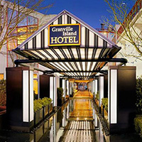 Granville Island Hotel entrance