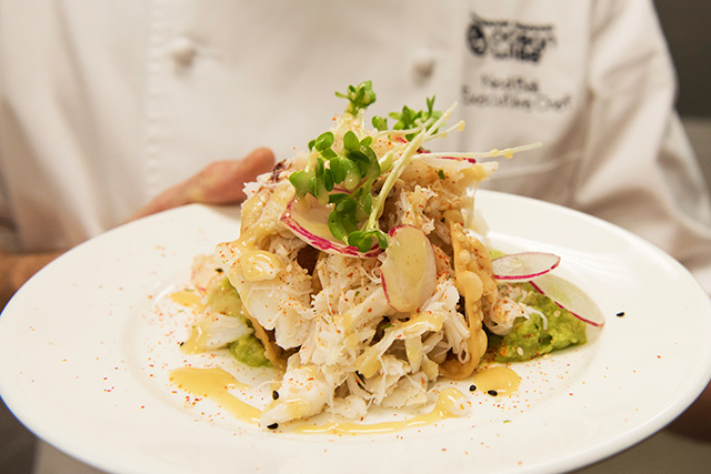Chef Ned's Famous Dungeness Crab Tacos