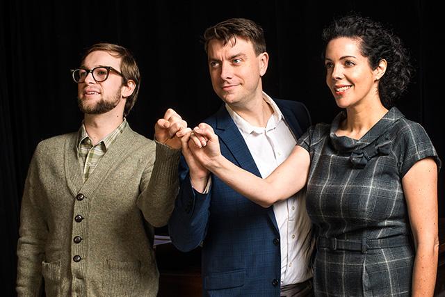 Ian Crowe, Scott Walters, Caitlin Clugston