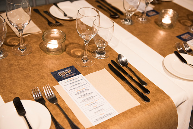 Ocean Wise table seating; photo Meighan Makarchuk