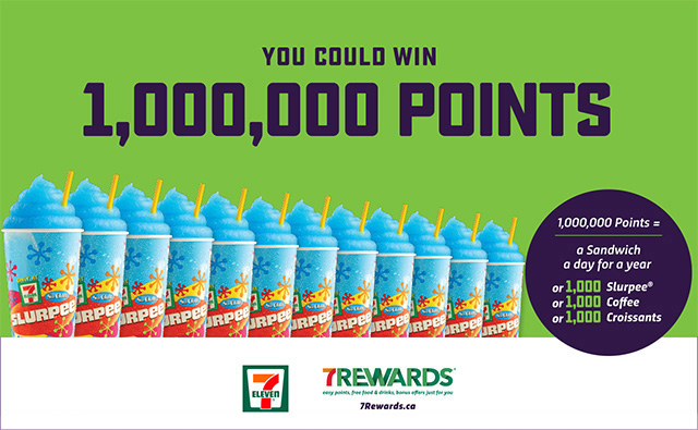 1 Million 7-Eleven Points