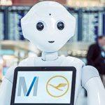 Munich Airport + Lufthansa Test Humanoid Robot Inside Terminal 2