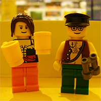 Pop-up Lego Bar, Vancouver