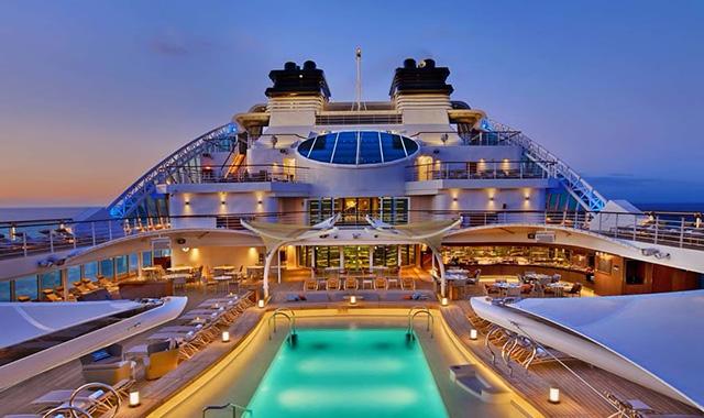 Aboard the Seabourn Encore