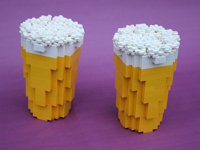 Lego Pop-Up Bar, Vancouver