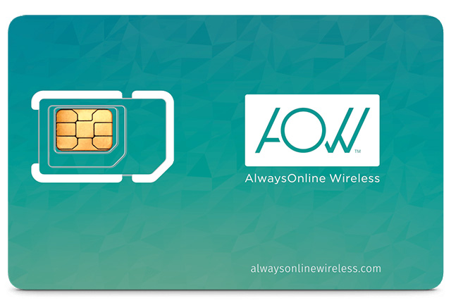 AlwaysOnline Wireless cards
