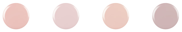 CND Shellac Nude Dots
