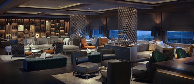 Ritz-Carlton Yacht Living Room
