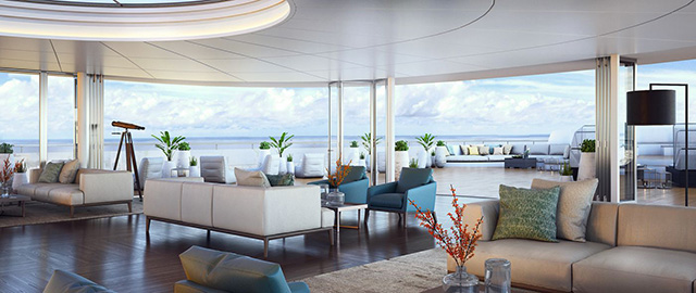 Ritz-Carlton Yacht Observation Lounge