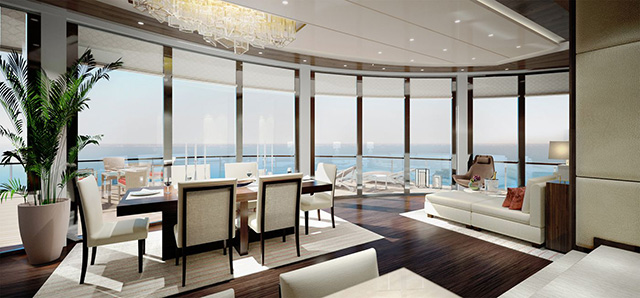 Ritz Carlton Yacht Owners suite