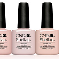 CND Nails Nude collection