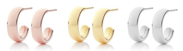 Monica Vinader Mini Hoop Earrings