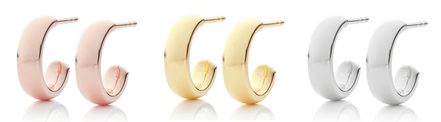 Monica Vinader Mini Hoop Earrings