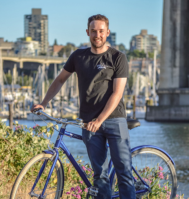 Nick of Cycle City Tours