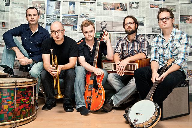 Enter the Haggis band