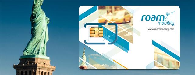 Roam Mobility SIM Card