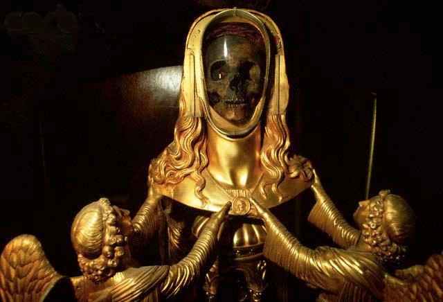 Sainte-Maximin-la-Sainte-Baume-Mary-Magdalene Skull Reliquary