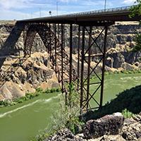 I.B. Perrine Bridge, Twin Falls
