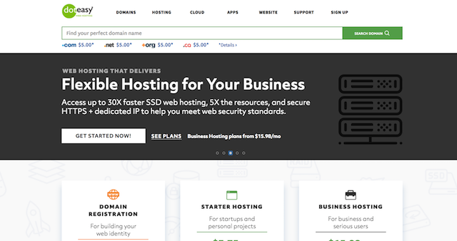 Doteasy Business Banner Home Page