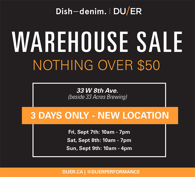 Dish and DUER Warehouse Sale