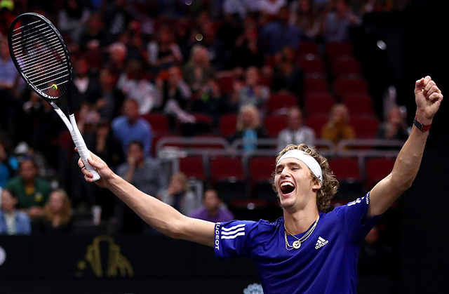 Alexander Zverev wins the Laver Cup for Team Europe