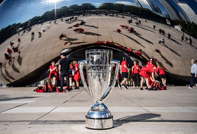 Laver Cup at Cloud Gate Chicago