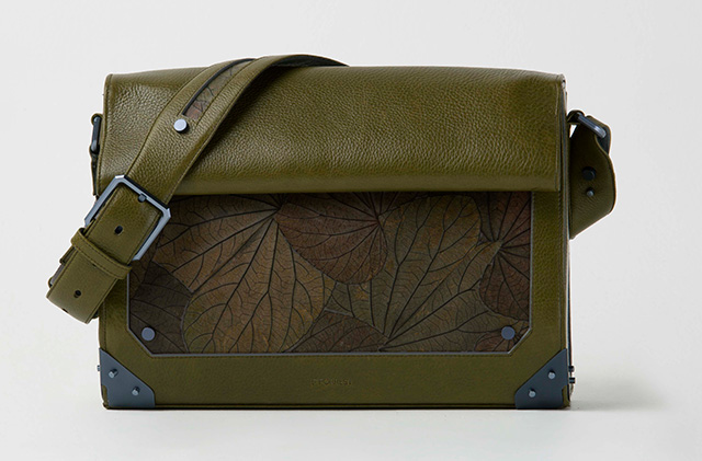 Leaf shoulder bag