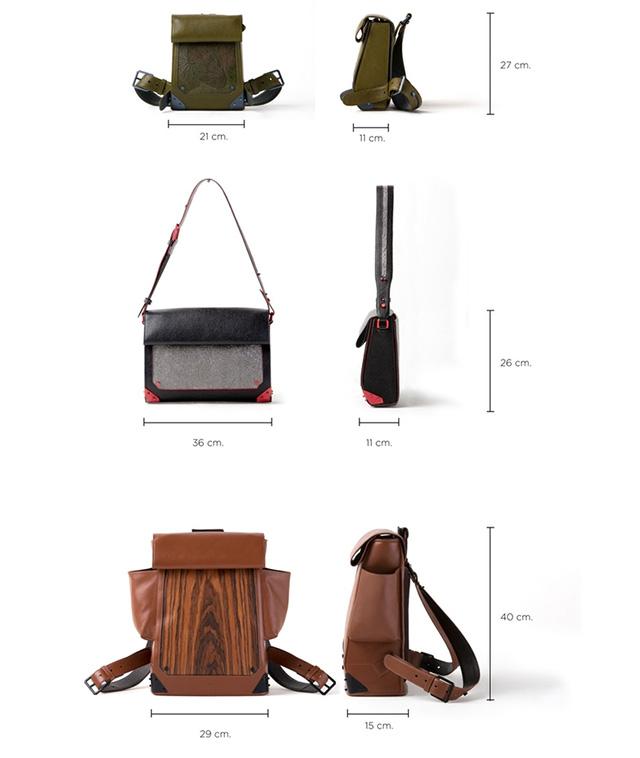 FORREST Bags Measurements