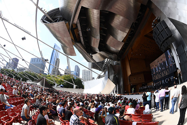 Chicago turned out to greet the Laver Cup 2018 teams