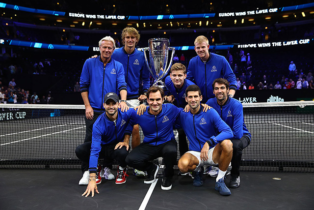 Team Europe win the Laver Cup