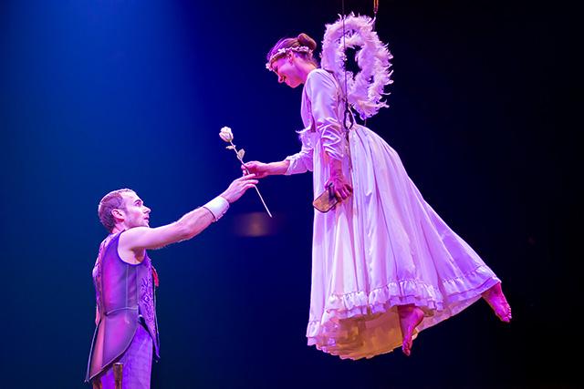 Acrobatic Ladder Costumes Dominique Lemieux 2018 Cirque du Soleil