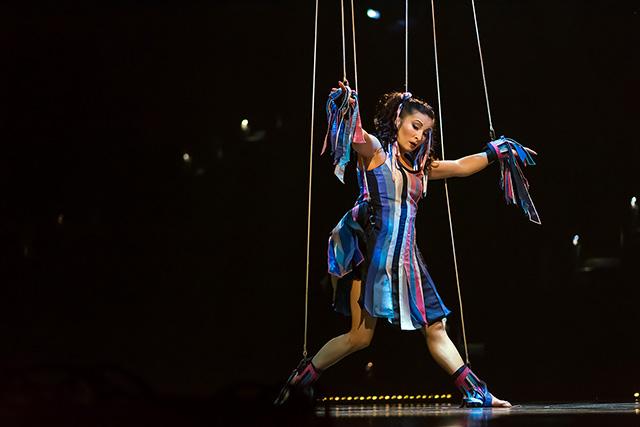 Artist Marionette Costumes Dominique Lemieux 2018 Cirque du Soleil