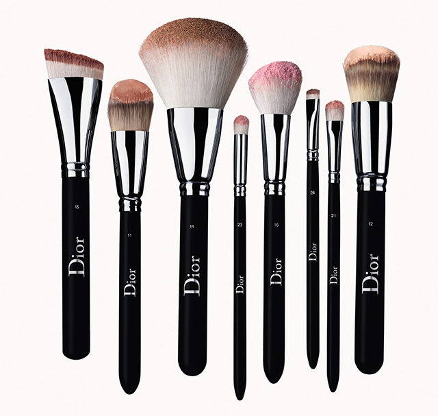 Dior Backstage brush lineup