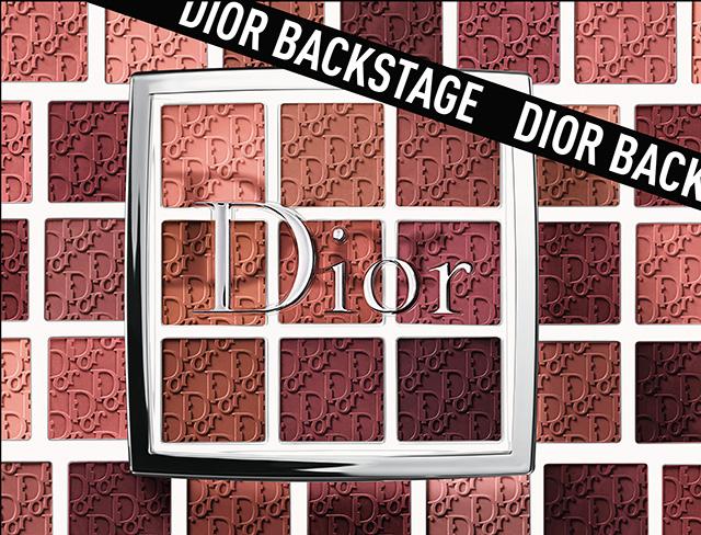 Dior Backstage lip palettes