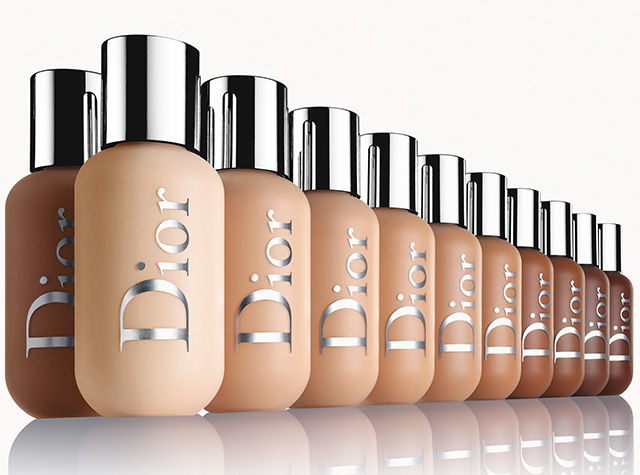 Dior Backstage foundation lineup
