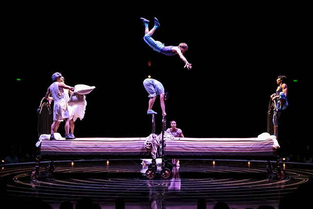 Bouncing Beds Cirque du Soleil