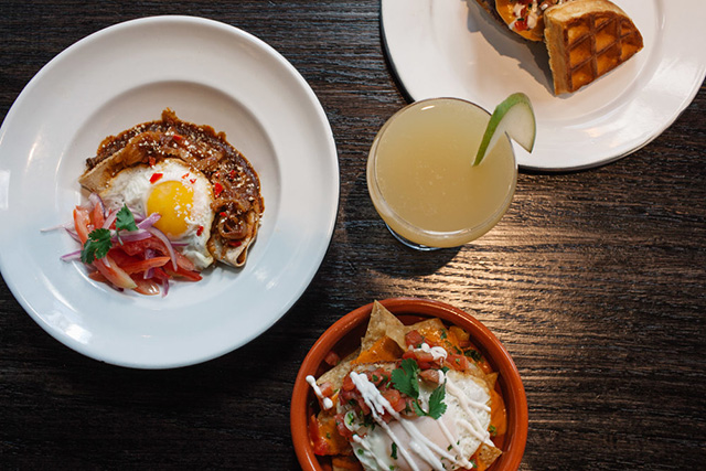 Brunch at Latinicity