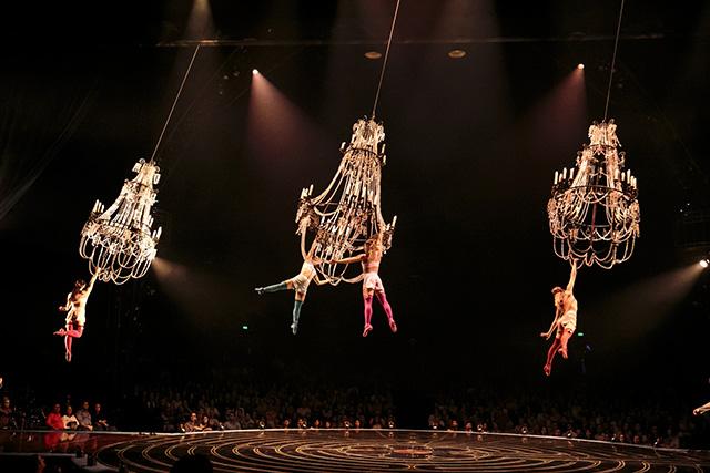 Lucas Saporiti Costumes Dominique Lemieux 2015 Cirque du Soleil