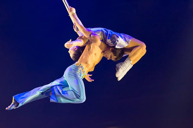 Duo-straps Costumes Dominique Lemieux 2018 Cirque du Soleil