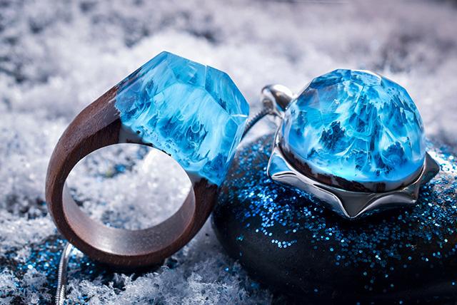 Secret Wood ring