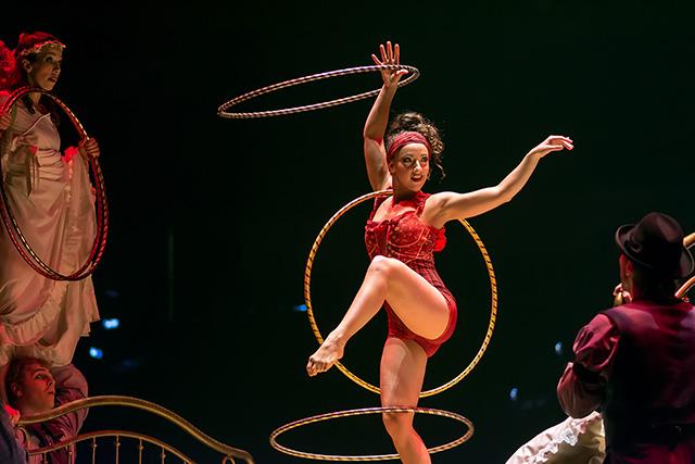 Hula-Hoop Costumes Dominique Lemieux 2018 Cirque du Soleil