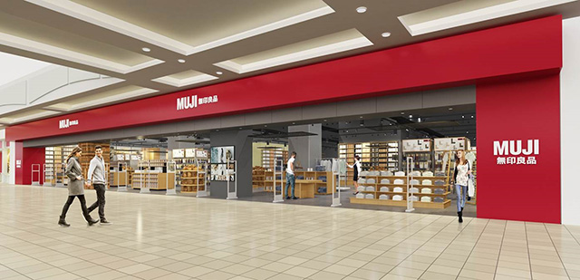 MUJI Metrotown expansion