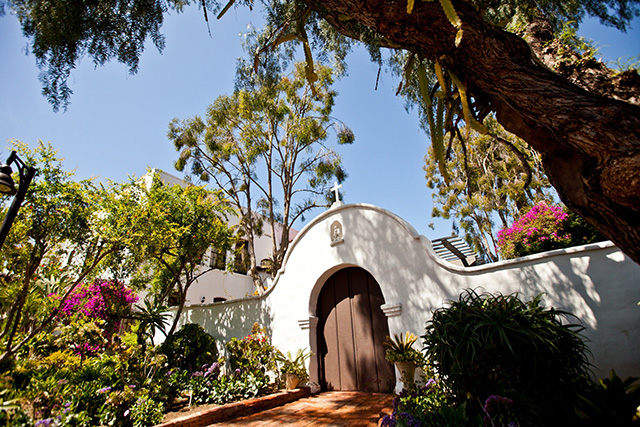 Mission San Diego de Alcala Gardens; photo courtesy Jeffrey Lamont Brown