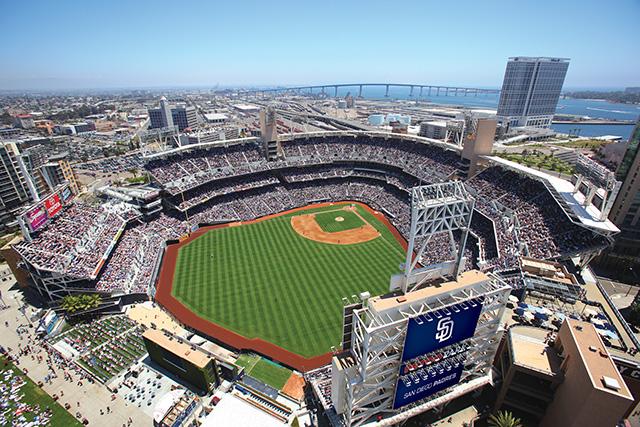 Petco Park; photo courtesy Hilton San Diego Bayfron