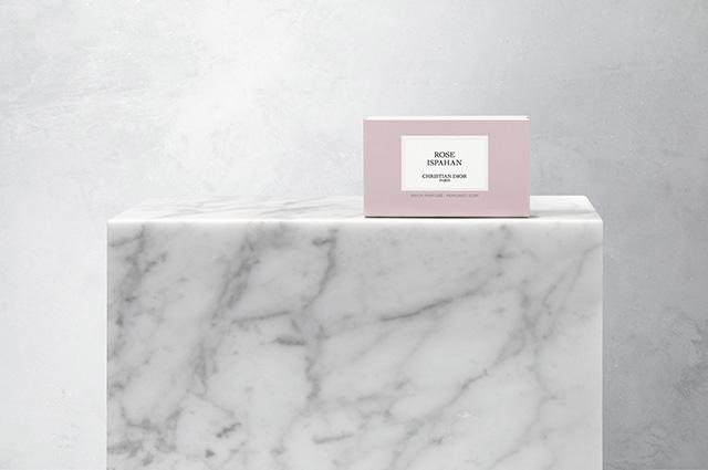 Dior Rose Ispahan soap